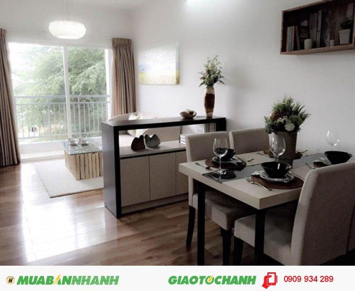 Căn hộ hoàn thiện bến Phú Định 64m2, 2PN, 2 toilet