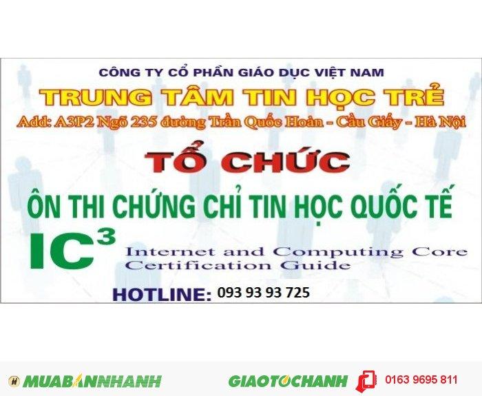 Chứng chỉ tin học quốc tế IC3