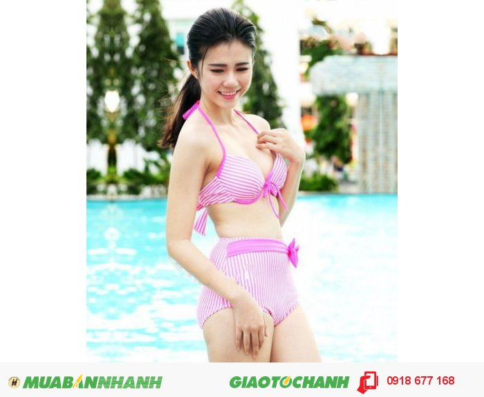 Bộ đồ bơi bikini Pink Neon ZID100610