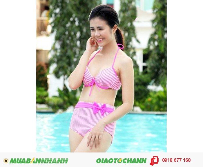 Bộ đồ bơi bikini Pink Neon ZID100611
