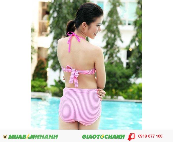 Bộ đồ bơi bikini Pink Neon ZID100612