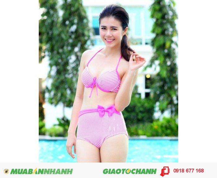 Bộ đồ bơi bikini Pink Neon ZID100613