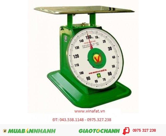 Phạm vi cân : 5 kg – 150 kg Phân độ nhỏ nhất : 500 g Cấp chính xác : IIII Sai số tối đa : ± 750 g Sai số tối thiểu : ± 250 g Ðường kính mặt số : 12 inch Khối lượng tịnh (N.W) : 16,7 kg Khối lượng đóng gói (G.W) : 17,9 kg Kích thước đóng gói (DxRxC) : (490x355x455) mm BẢO HÀNH :12 THÁNG GIÁ BÁN CHƯA VAT 10%(CB) :1.3200.000  Holine: MR DUY1