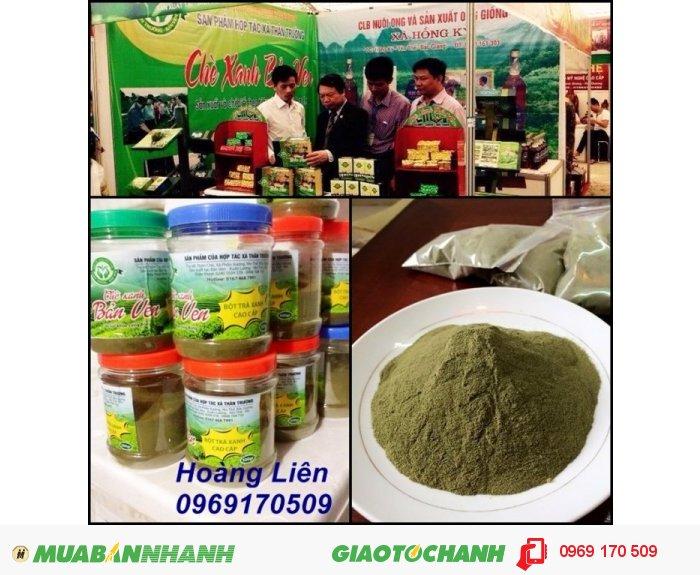 Tinh bột nghệ nguyên chất - Bột trà xanh nguyên chất1
