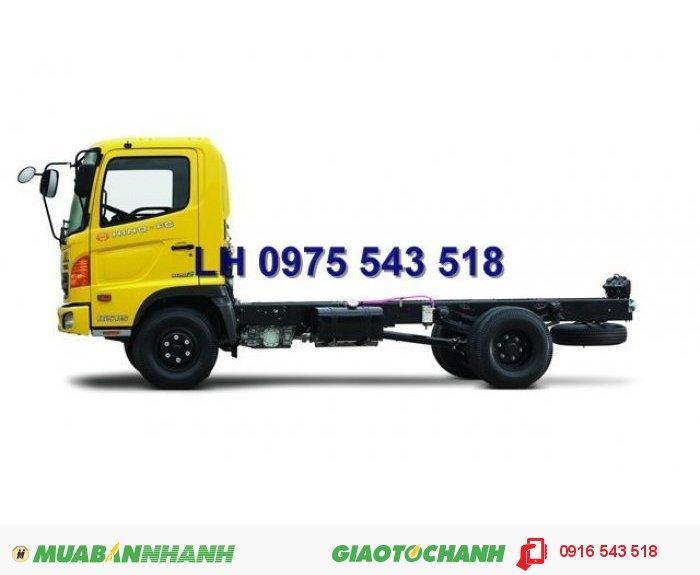 Bán xe tải Hino FC 6 .4 tấn, thùng lửng, Xe HINO nhập 0