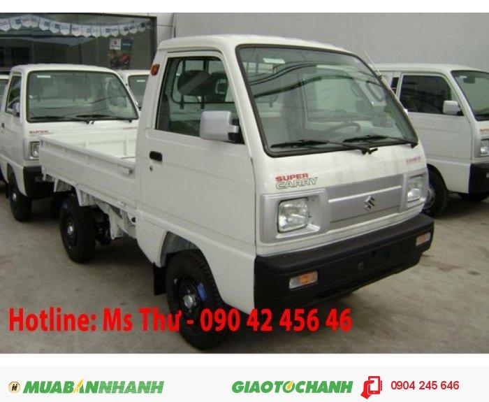 Xe suzuki truck 650kg, phun xăng điên tử, khuyến mãi tết