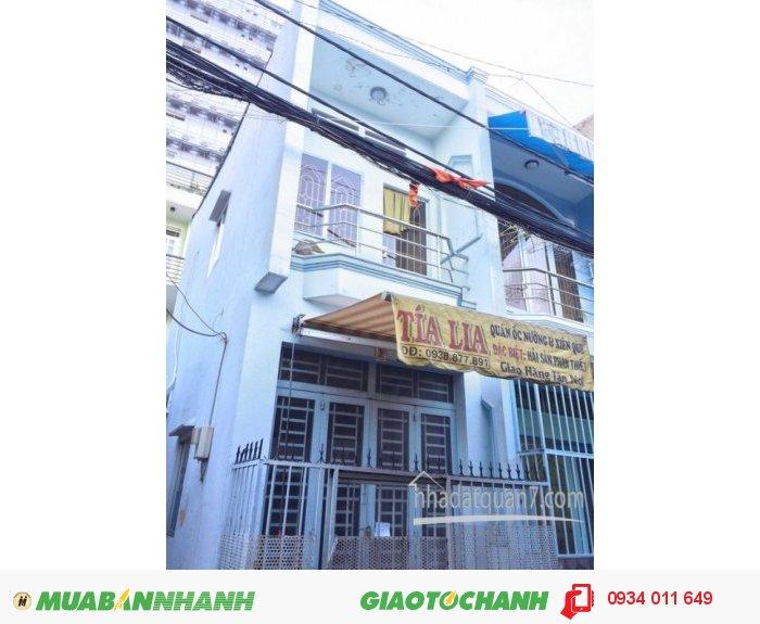 Bán nhà nhỏ 1 lầu MT hẽm 5m Huỳnh Tấn Phát, Q7 (hẽm 128, đông đúc tiện KDBB)