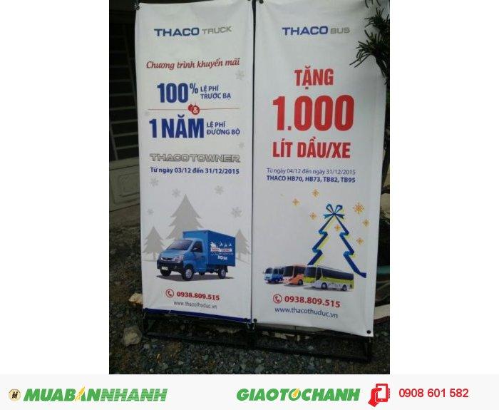 Xe tải nhẹ 650 kg (Towner 750A) - Trường Hải Ôto 4
