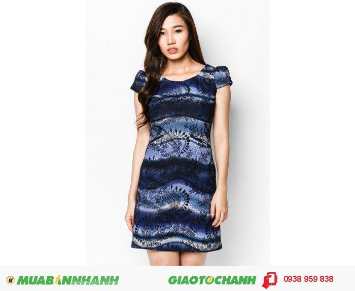 Đầm suôn túi mỗ | Mã: AD195-xanh | Giá: 650000 | Quy cách: 84-66-90 (+-2) | chiều dài tb: 85cm - 90cm | Chất liệu: thun 4 chiều | Size (S - M - L - XL- XXL) | Mô tả: Đầm may ren hoa phối in kẻ sọc theo phong cách loang màu của thương hiệu Anna Collection đem đến sự thanh lịch và sang trọng cho các quý ô hiện đại. Thiết kế đầm chắc chắn khẳng định đẳng cấp và phong thái quý phái của bạn., 1