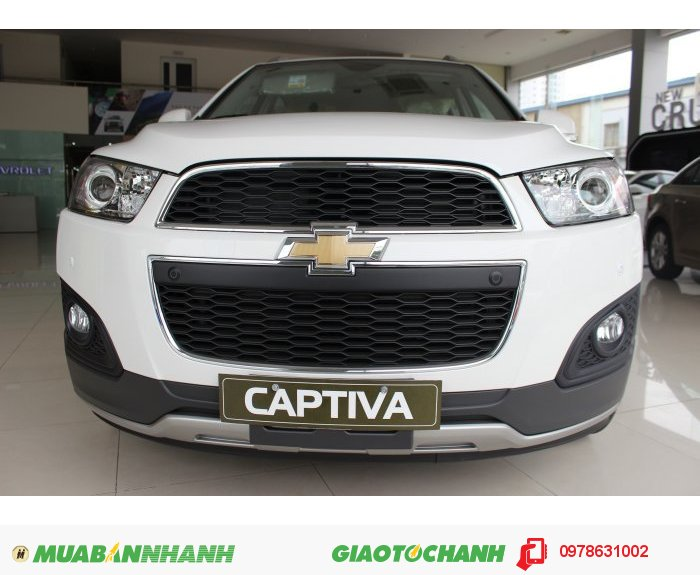 Captiva 2015 CHiếc xe SUV lịch lãm sang trọng giá cả thỏa thuận 3