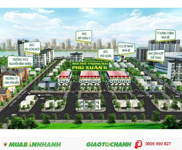 Nhà bán 855tr/89m2, đường Huỳnh Tấn Phát