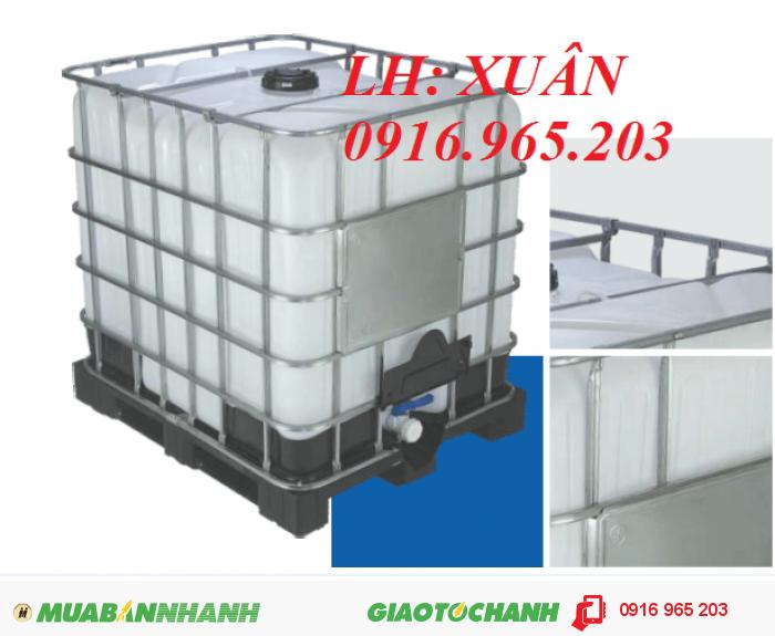 bồn nhựa IBC đựng hóa chất1