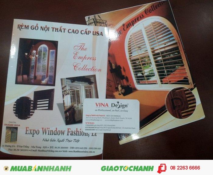 Kỹ thuật in catalogue quảng cáo, in catalogue danh mục sản phẩm cho công ty: Phương...