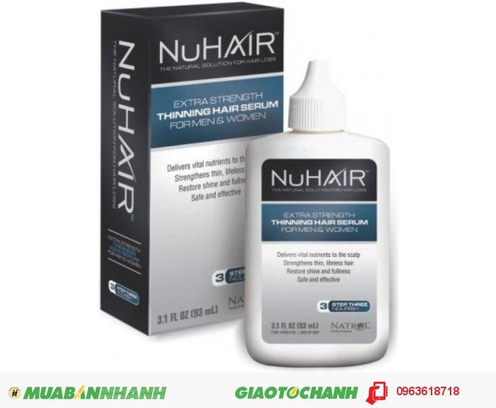 Ngoài ra trong serum còn có Panthenol: Vitamin B thấm sau vào các lớp biểu bì tóc để giúp mái tóc giữ được độ ẩm của tóc, giúp tóc mềm dẻo hơn, sáng hơn và dày hơn. Chamomile & Sage (hoa cúc và xô thơm): Trợ giúp đem lại sức sống cho da đầu. Tăng cường các kết cấu của tóc. Thúc đẩy tính đàn hồi giúp tóc mềm mại hơn. Shea Butter: Giàu vitamin A & E, bơ hạt mỡ giúp làm dịu khô từ gốc đến ngọn để lại mái tóc khỏe mạnh và sáng bóng. Tránh tình trạng làm khô da đầu khi sử dụng. Grape Seed Extract: Nâng cao khả năng phát triển của tóc làm tóc chắc khỏe từng ngày., 3