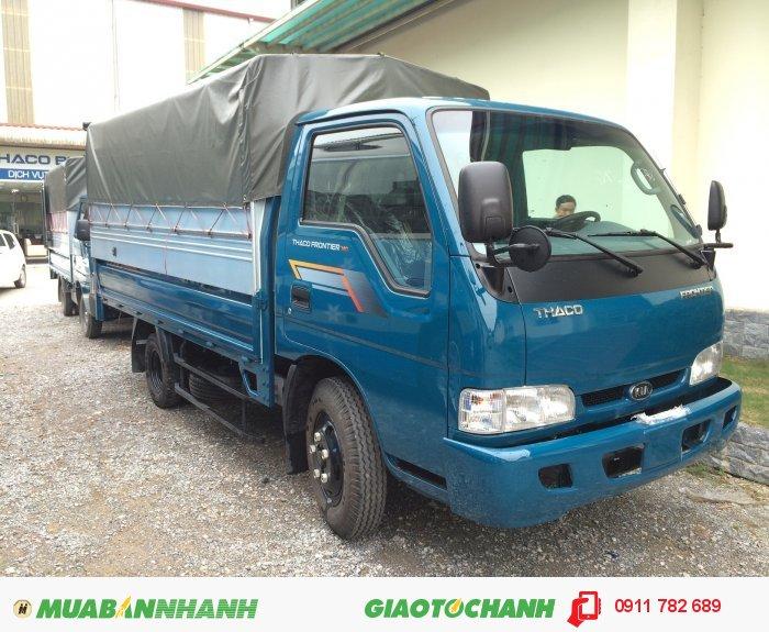 Xe tải K190 tải trọng 2 tấn giá chỉ 282 triệu. giao xe 1 tuần