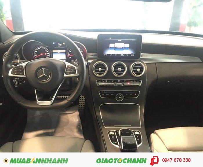 Bán xe Mercedes C250 AMG sx2015 Đen cực mới 2
