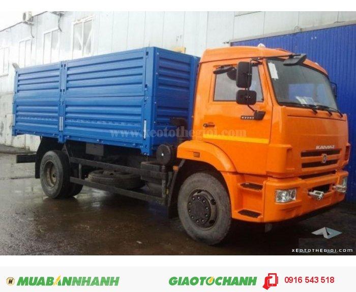 Xe tải Kamaz 43253 (4x2) - Nhập khẩu nguyên chiếc Liên Bang Nga Thùng dài 5.2m