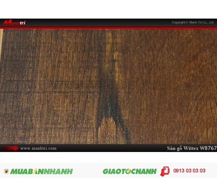 Sàn gỗ công nghiệp Wittex W8767 | Qui cách: 1215 x 165 x 12mm | Ứng dụng: Thi công lắp đặt làm sàn gỗ nội thất trong nhà, phòng khách, phòng ngủ, phòng ăn, showroom, trung tâm thương mại, shopping, sàn thi đấu. Giá bán: 239.000VND, 3
