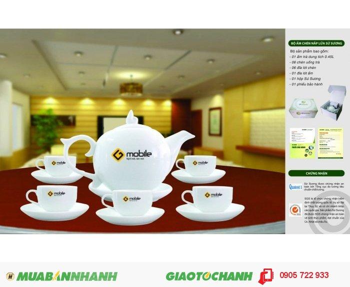In ấn bộ ấm trà tại Quảng Ngãi, bộ ly tách in ấn Quảng Ngãi, in ấn gốm sứ Quảng Ngãi2