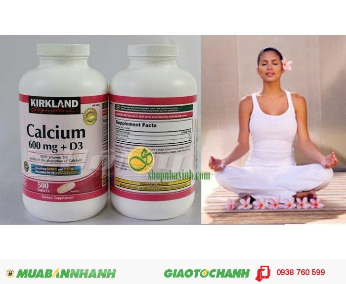 Viên uống Calcium 600 mg + D32