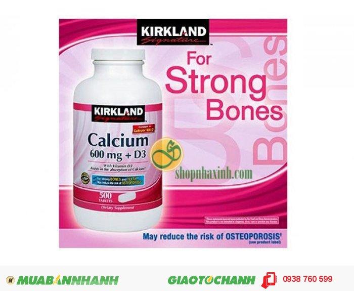 Viên uống Calcium 600 mg + D34