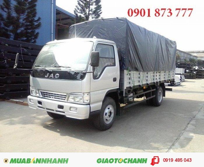 Xe tải JAC 3.45 tấn (JAC 3T45) giá tốt nhất miền Nam, Mua xe tải JAC 3T45 3.45 tấn trả góp lãi suất thấp 0