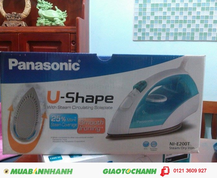Bàn ủi hơi nước Panasonic NI - E200T