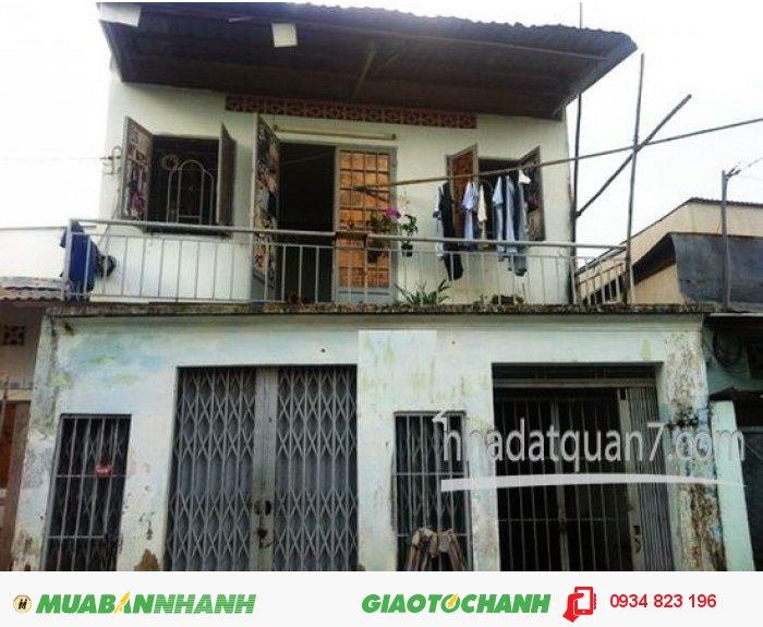 Nhà Nát tiện xây mới diện tích 5mx14m, hẽm xe hơi 803 Huỳnh Tấn Phát, Quận 7, giá 1.578 Tỷ