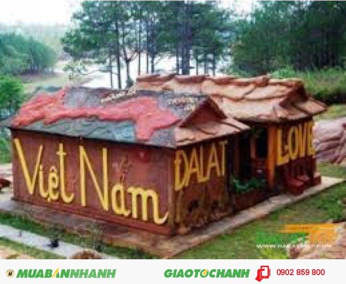 Tour du lịch ĐÀ LẠT hầm điêu khắc làng đất sét giá rẻ