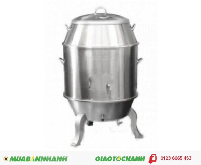 Lò quay vịt dùng than, Lò nướng gà vịt bằng inox, Lu quay vịt Bắc Kinh, Lò nướng gà vịt giá rẻ