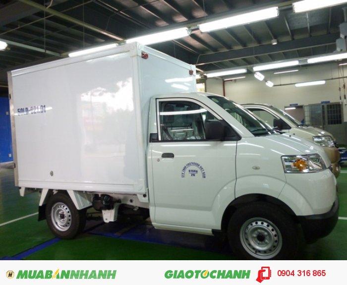Xe 7 tạ giá rẻ, xe tải Suzuki chính hãng, thùng lửng, thùng kín, mui bạt có xe sẵn giao ngay