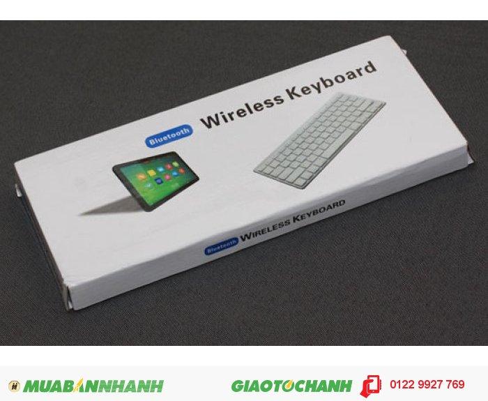 Bàn phím dành cho iPad với dtdd cảm ứng