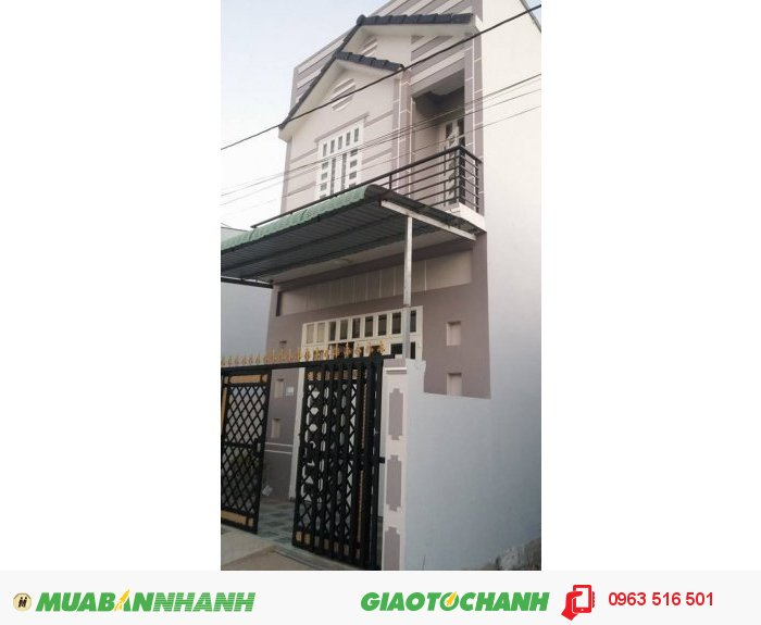 Bán Nhà 1 Trệt 1 Lầu Giá 580tr . Đường Nguyễn Văn Linh . Quận Bình Thủy TP Cần Thơ .