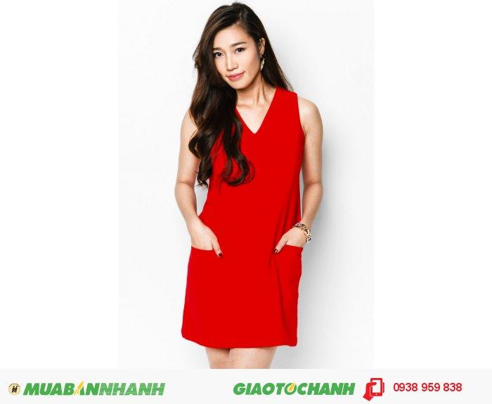 Đầm suôn phối cúp 2 túi | Mã: AD214- đỏ| Giá: 488000 | Quy cách: 84-66-90 (+-2) | chiều dài tb: 85cm - 90cm | chiffon lạnh | Size (S - M - L - XL) | Mô tả: Khoe nét thanh lịch và duyên dáng với đầm suông. Đừng ngần ngại thử những gam màu nóng bỏng như màu đỏ này nơi công sở, nó sẽ giúp bạn nổi bật và trẻ trung hơn nhiều đấy!, 5