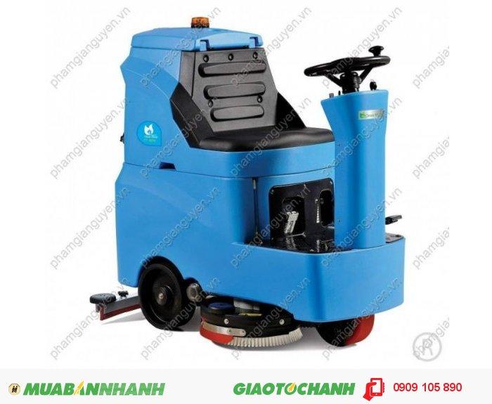Máy chà sàn liên hợp ngồi lái Clean Maid Model: TT -MiNi