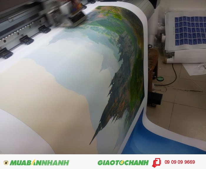 In kỹ thuật số khổ lớn là loại hình in ấn khổ lớn bằng kỹ thuật in phun kỹ thuật số. Đó là phun trực tiếp mực in lên bề mặt chất liệu giúp tạo cấp độ màu sắc theo như bản gốc của bức tranh. Hệ thống mực in được phun mạnh qua đầu phun, đều khắp bề mặt vải canvas tạo nên độ mịn và mượt mà cho toàn bộ bức tranh., 3