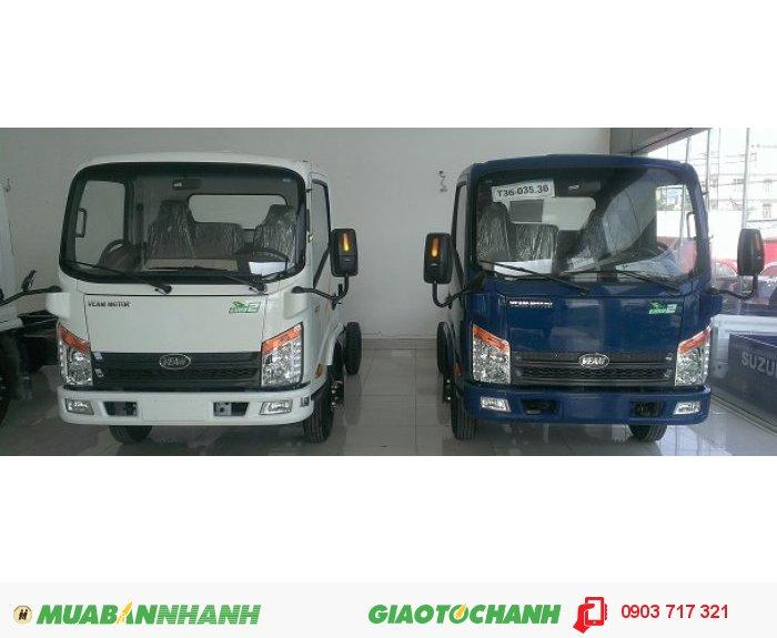 Xe tải Veam VT125 thùng kín. Bán xe tải Veam VT125 giá gốc