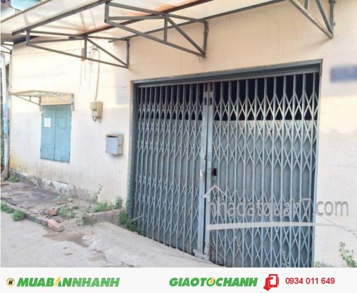 Bán lô đất MT hẽm oto 5m đường Nguyễn Văn Quỳ, P. Tân Thuận Đông, Q7