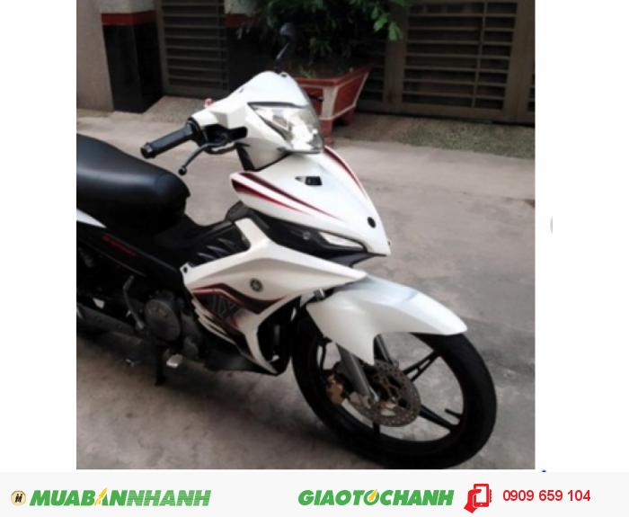 Yamaha Exciter trắng đen .xe keng xà beng
