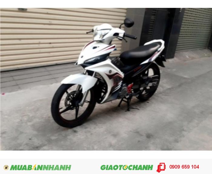 Yamaha Exciter trắng đen .xe keng xà beng 2