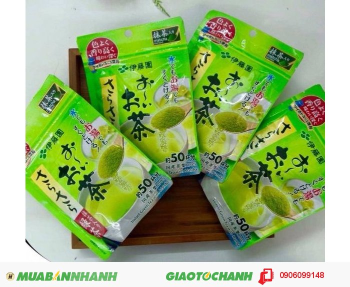 Bột trà xanh của Nhật Bản1