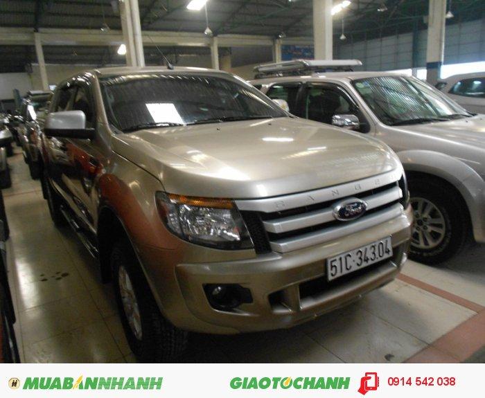 Bán Ford Ranger XLS ghi vàng sx 2013 bstp 0