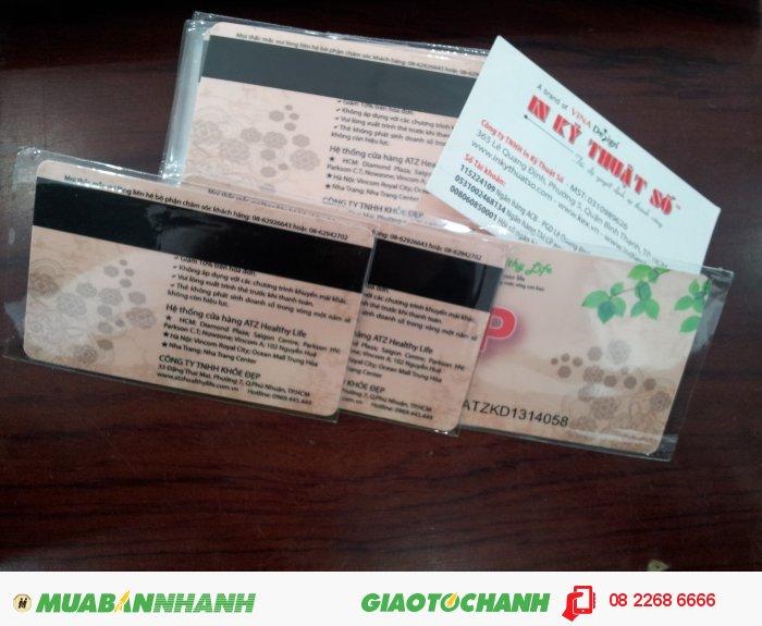 Thẻ từ ứng dụng cho thẻ VIP thành viên, VIP khách hàng - thực hiện in ấn tại I...