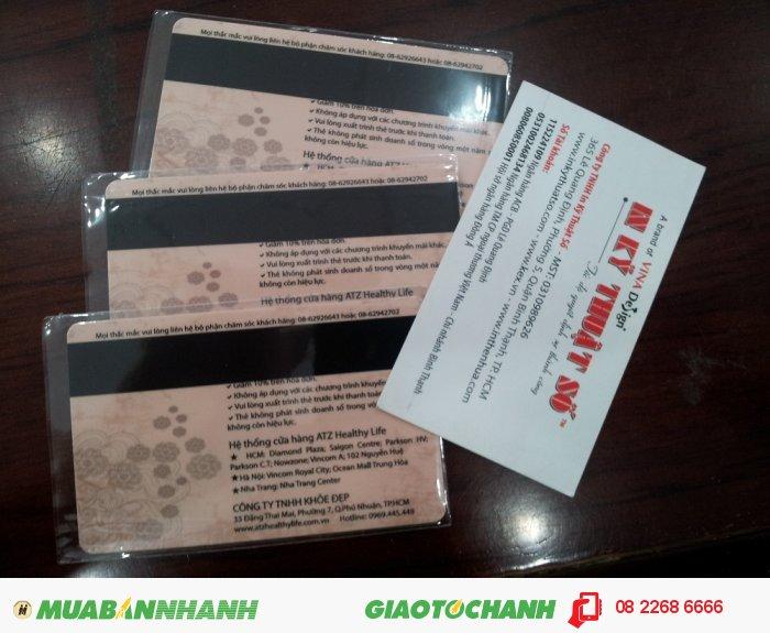 In thẻ từ giá rẻ, đặt in thẻ từ với phôi thẻ từ chất lượng