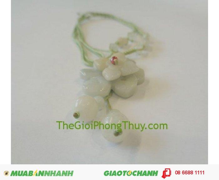 Dây chuyền kết sẵn hoa Mẫu đơn chữ thập ( Myanmar) FS501