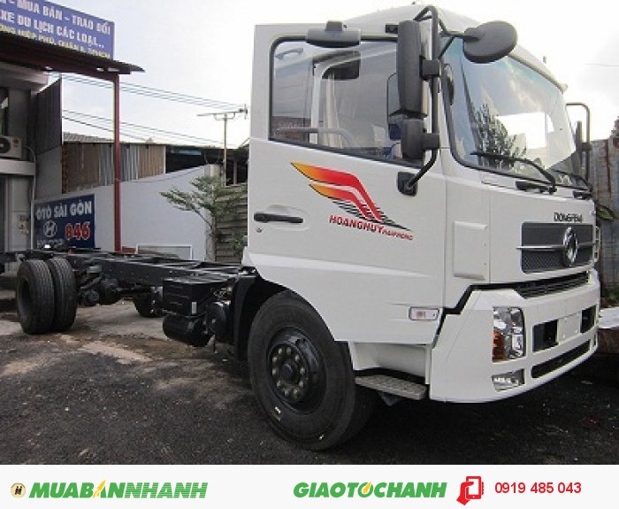 Cung cấp xe tải Dongfeng, xe tải thùng Dongfeng Hoàng Huy B190 8.45 tấn 9.15 tấn máy Cummin 3