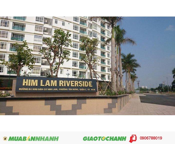Căn hộ cao cấp Him Lam Riverside quận 7 giá rẻ