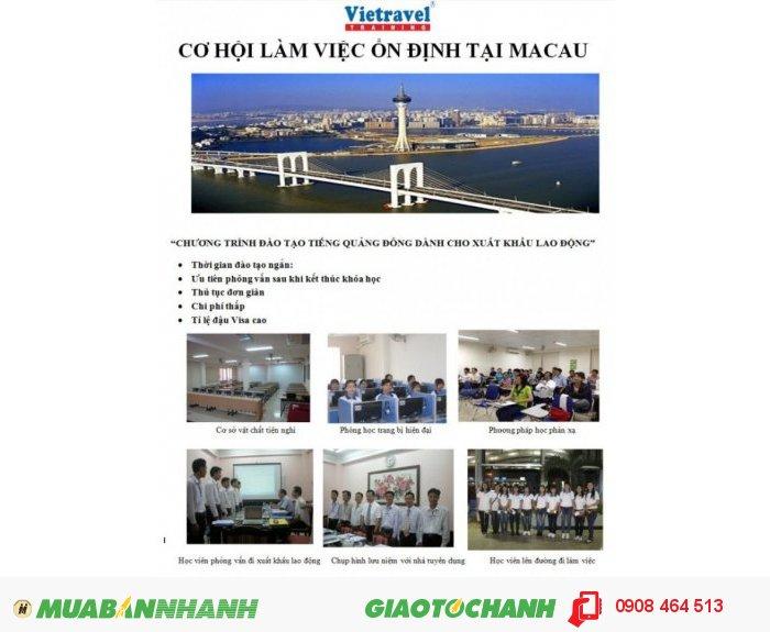 Chương trình đào tạo tiếng Quảng Đông cho xuất khẩu