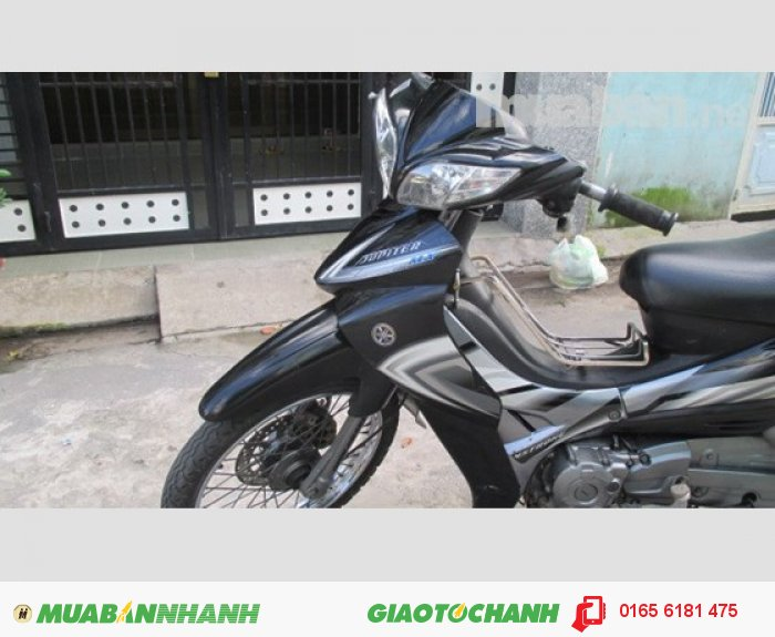 Yamaha Jupiter Gravita 2008,màu đen,thắng đĩa