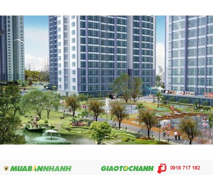 Bán Chung Cư P7 Q8 76.6m2 c.cư cao tầng